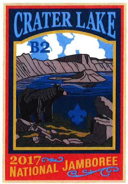 Crater Lake 2017 Jamboree subcamp patch