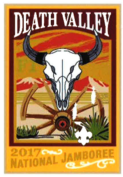 Death Valley 2017 Jamboree subcamp patch