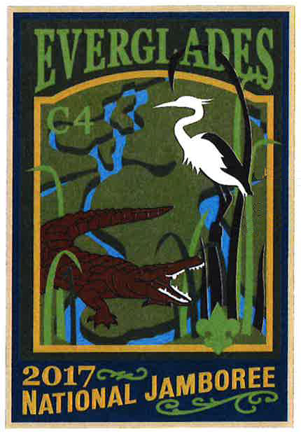 Everglades 2017 Jamboree subcamp patch