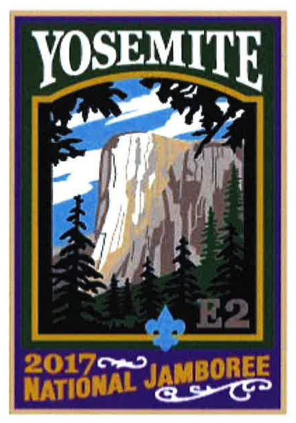 Yosemite 2017 Jamboree subcamp patch