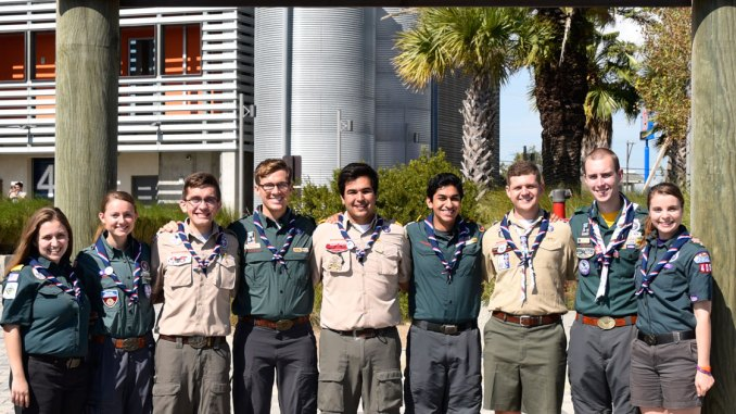 Young people represent BSA on international Scouting stage