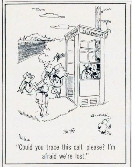 1969-scouting-cartoon-lost-at-the-payphone