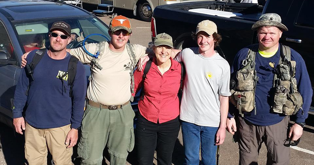 Saved by the Boy Scouts: Woman recounts tale of rescue on the mountain
