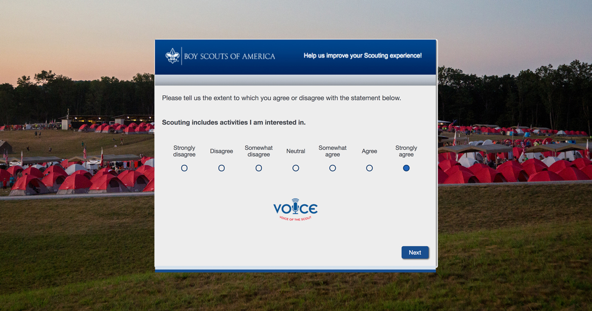 10 things to know about Voice of the Scout, the survey for Scouts, parents and leaders
