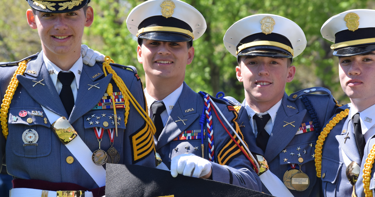 Hargrave Military Academy, like Scouting, teaches leadership and ethics