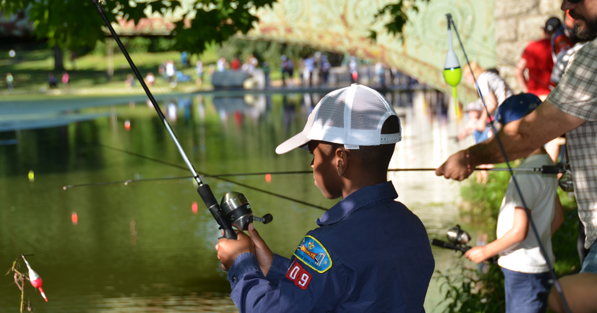 Detroit Fishing Day a model for how to get young people hooked on Scouting