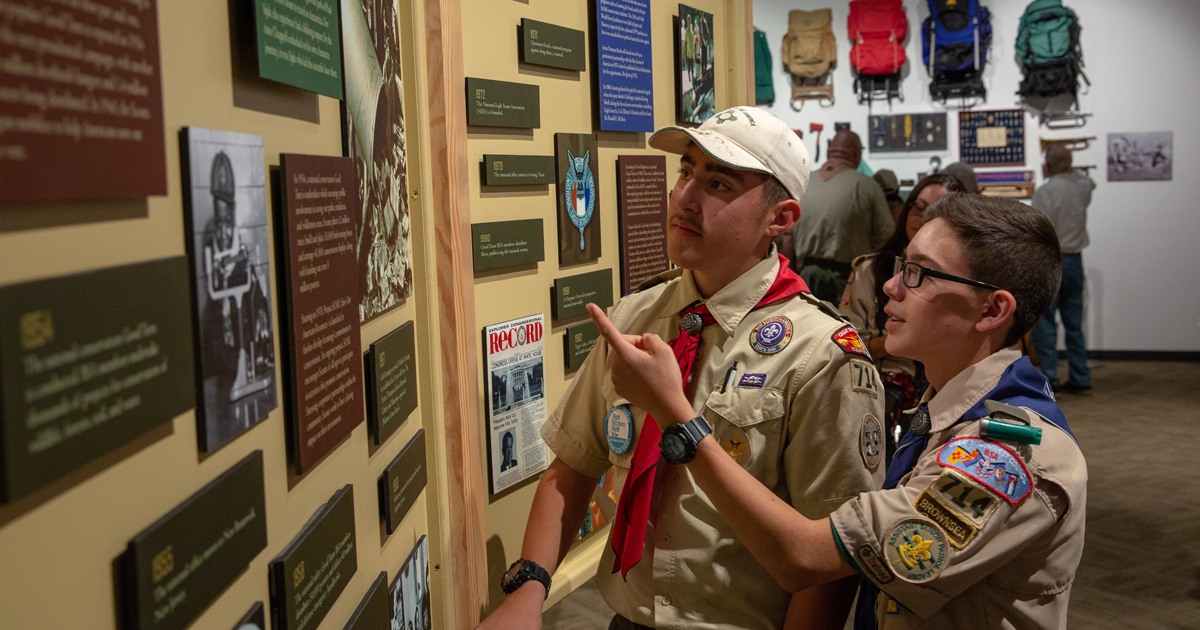 How to complete requirement 4B of Scouting Heritage merit badge