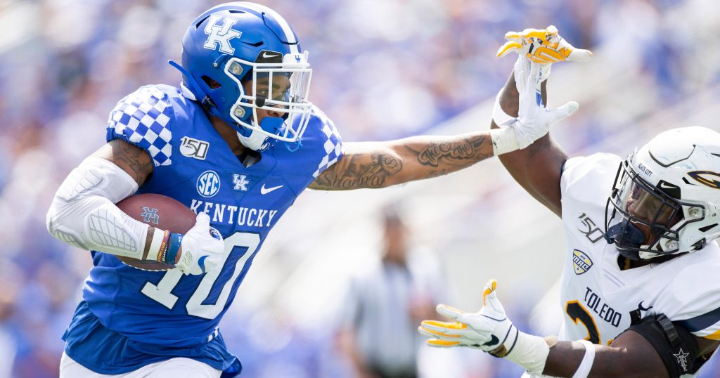 Kentucky running back prepared for gridiron challenges thanks to Scouting