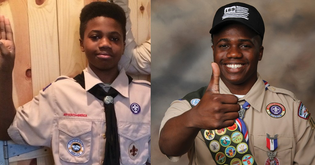Scouts Then and Now, Chapter 18