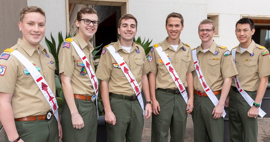 2020 Order of the Arrow national officers elected; here's who represents your region