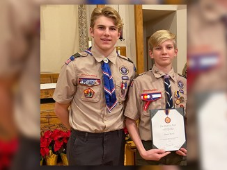 Daniel (right) and Joshua Kevil