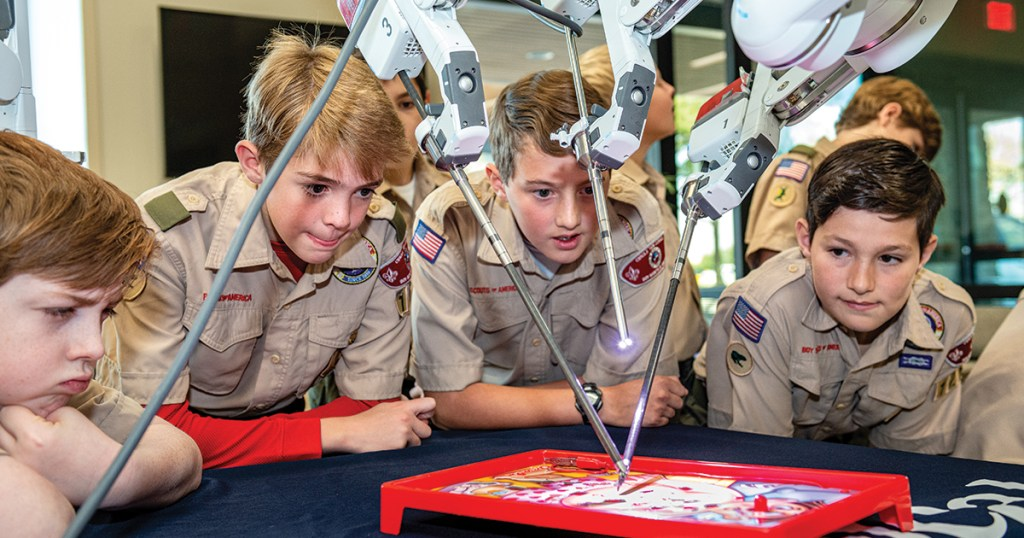 Scouts see how robotics revolutionized medicine at Texas hospital