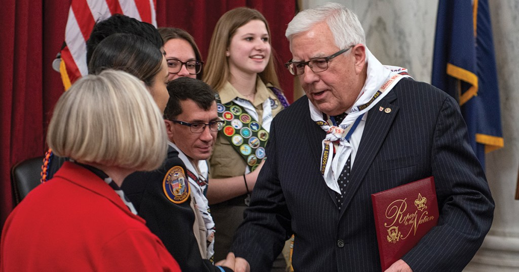 Mike Enzi, Distinguished Eagle Scout and former U.S. senator, dies at 77