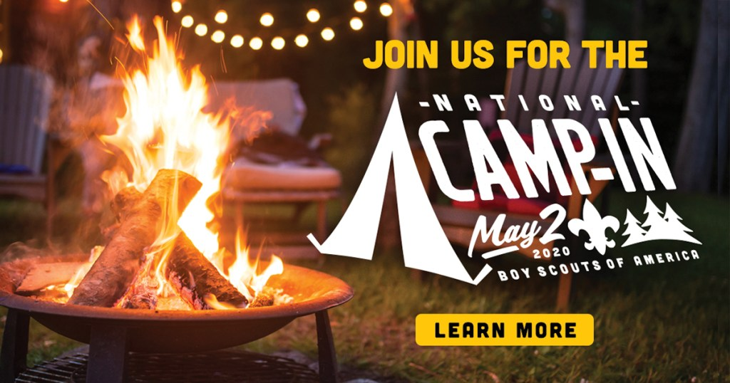Log in for day of fun at the BSA's National Camp-In