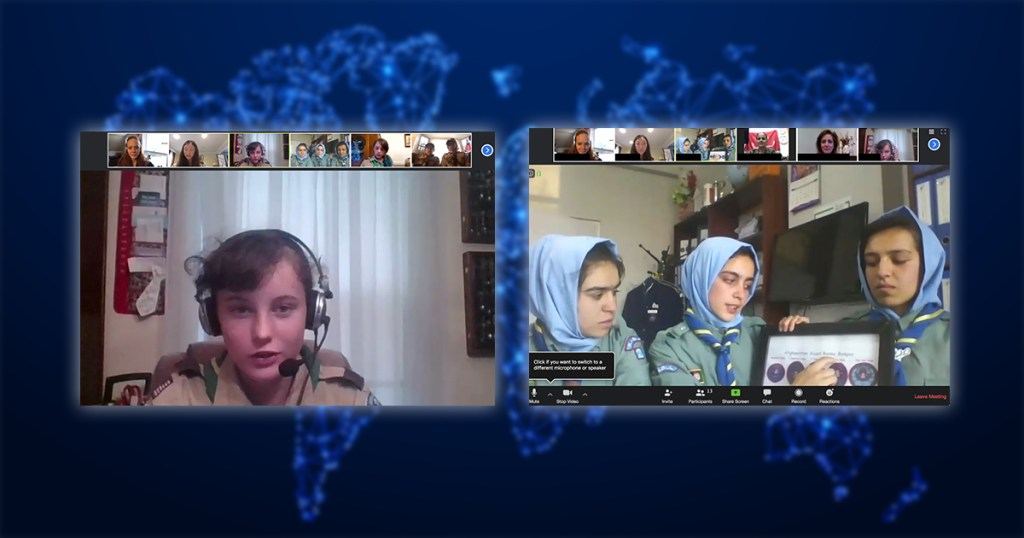 A world of good: Virginia Scouts hold virtual meeting with Scouts from Afghanistan