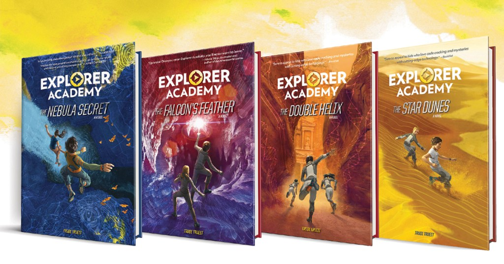 Encourage your Scouts to find adventure with National Geographic's Explorer Academy book series