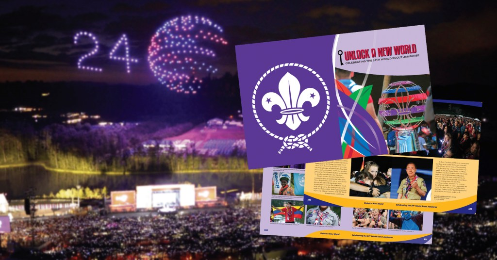 Read an excerpt from the new book about the magical 2019 World Scout Jamboree
