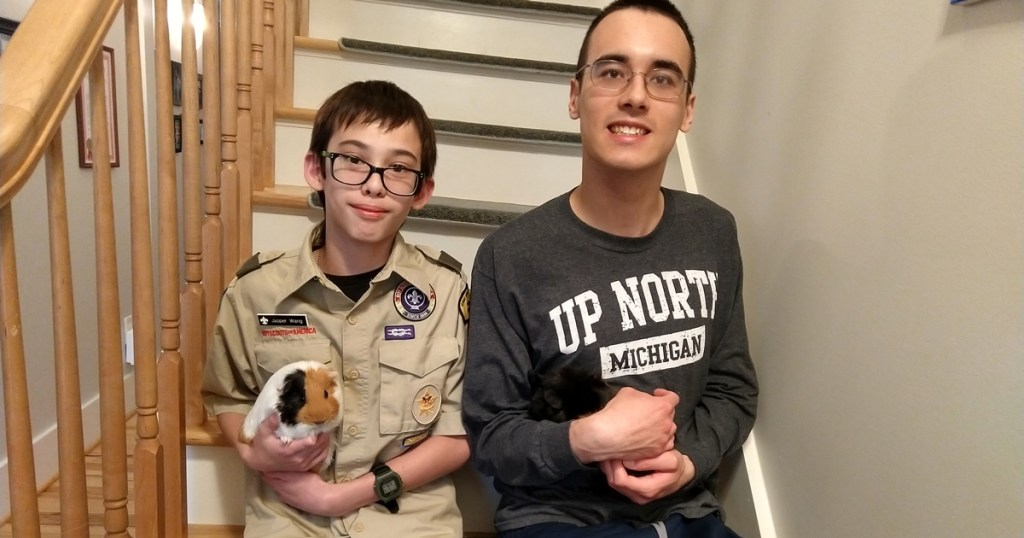 Unsung Hero: Star Scout helps his older brother get through scary seizures