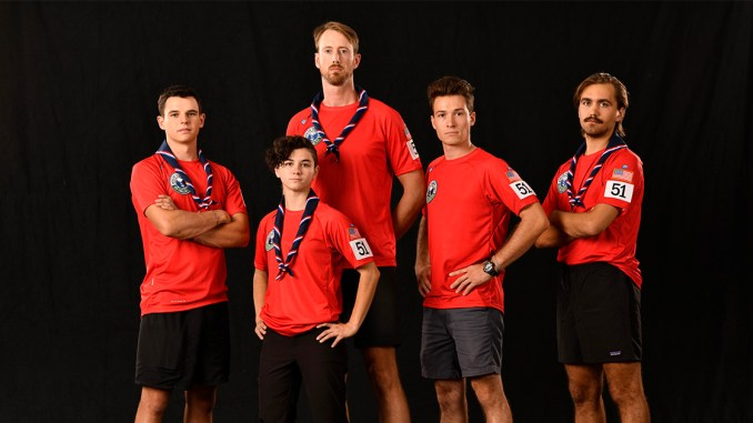 Portrait of Team Eagle Scouts