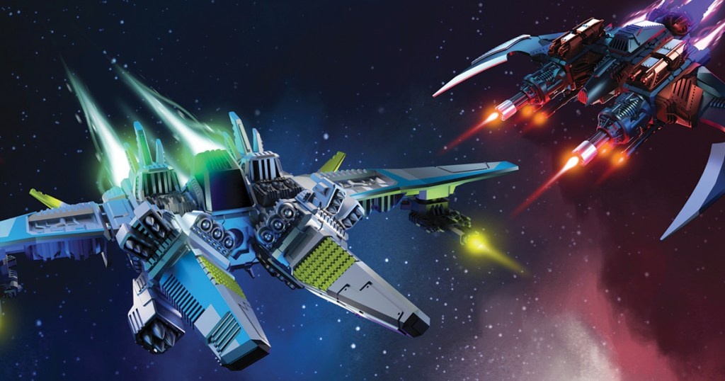 Blast off for battleship-building fun with the Snap Ships fleet