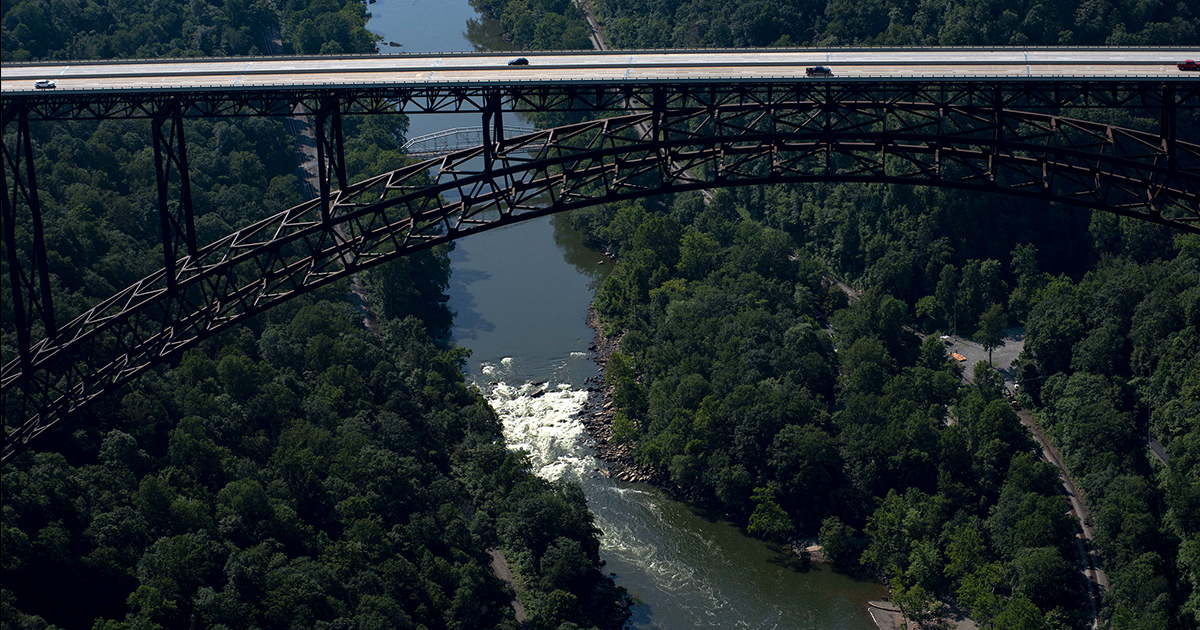 New River Gorge, just minutes from the Summit, becomes our 63rd national park