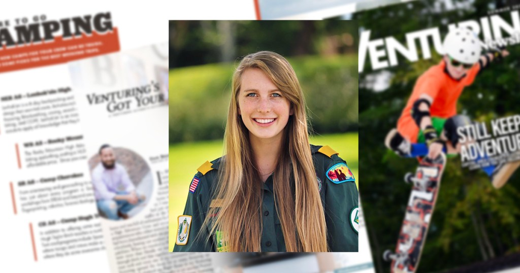 Inside the Venturing Newsletter, a publication created by and for Venturers