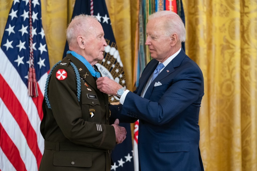 Ralph Puckett Jr. becomes 12th known Eagle Scout to receive the Medal of Honor