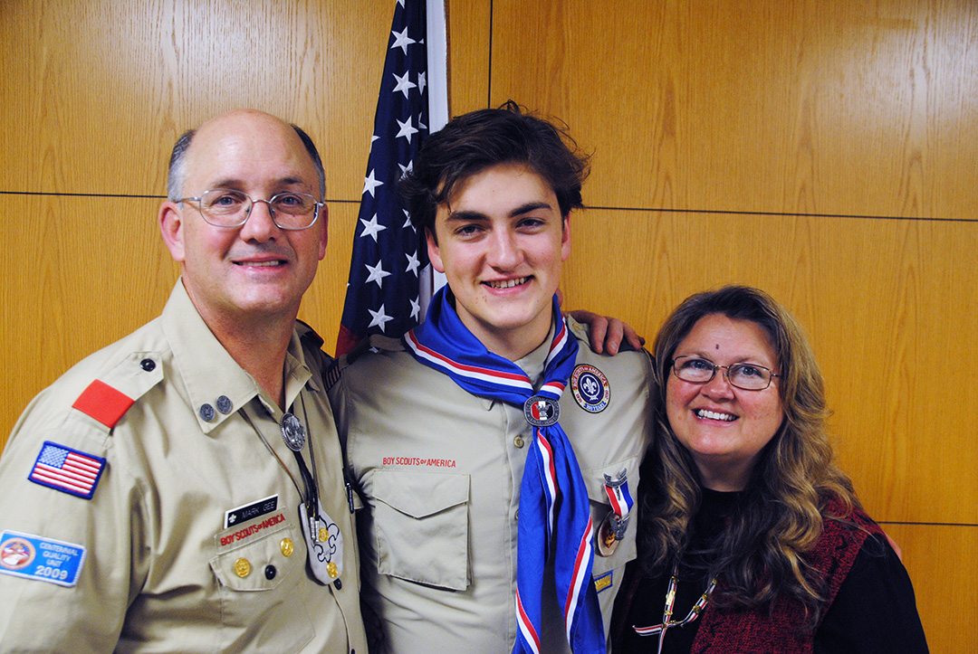Photo of Eagle Scout writes heartwarming song for Teacher Appreciation Week