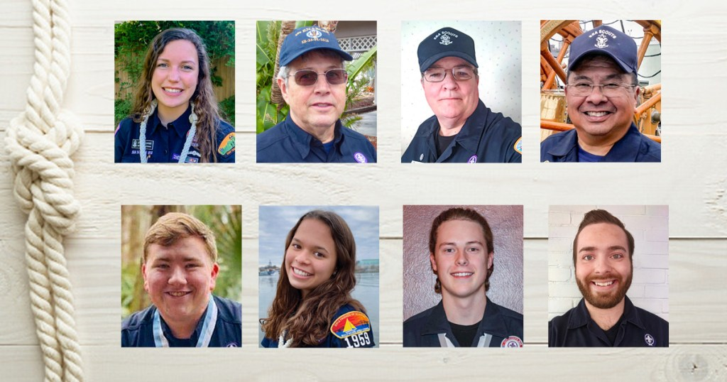 Bravo Zulu to the recipients of the 2020 National Sea Scout Leadership Award