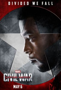 Captain America: Civil War Black Panther Character Poster