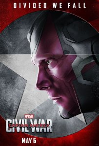Captain America: Civil War The Vision Poster