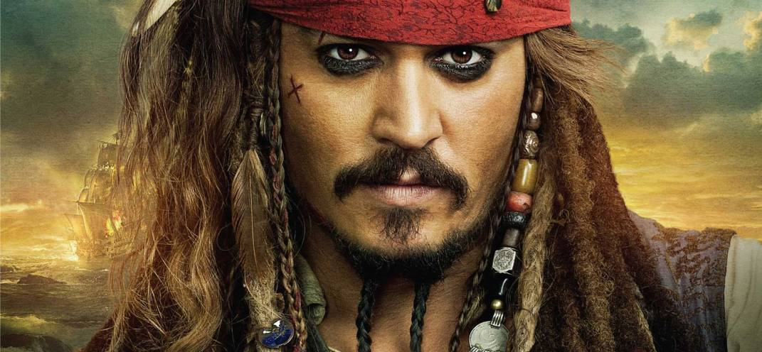 Johnny Depp is back as Captain Jack Sparrow