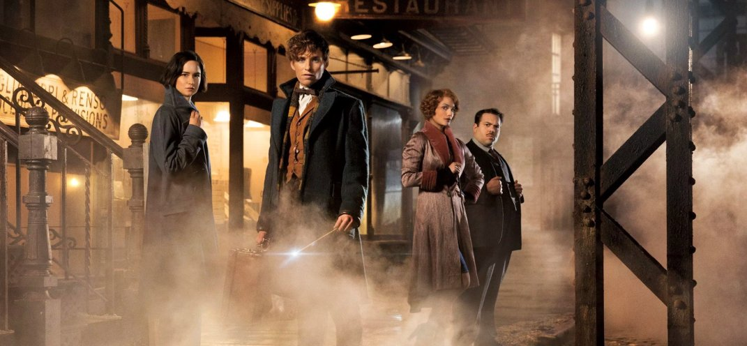 Eddie Redmayne is Newt Scamander in the first trailer for J.K. Rowling's Fantastic Beasts and Where to Find Them