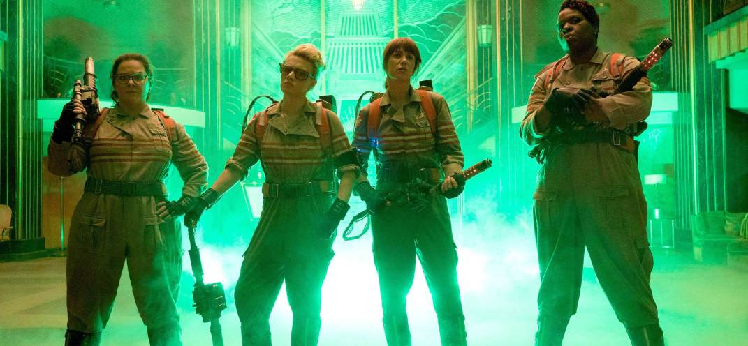 Find out who you're gonna call as the first Ghostbusters trailer materialises
