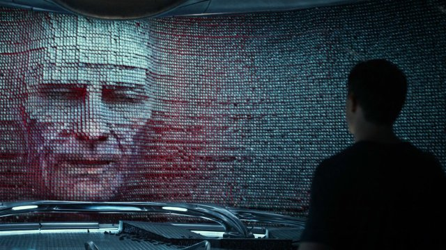 Bryan Cranston as Zordon in Power Rangers.