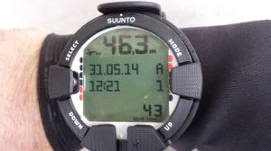 Fantastic diving at The Bills Rocks, testing out the SUUNTO Vyper Air. A very nice computer with air integration, gas switching and a tidy digital compass built in