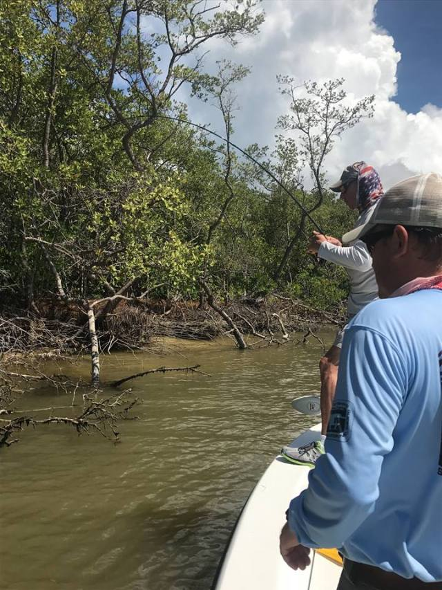 Project Healing Waters fly fishing disabled veterans SeaDek Everglades