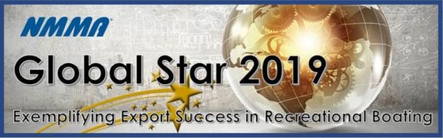 2019 NMMA Global Star Award Exemplifying Export Success in Recreational Boating.