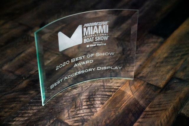 2020 Best of Show award for Best Accessory Display
