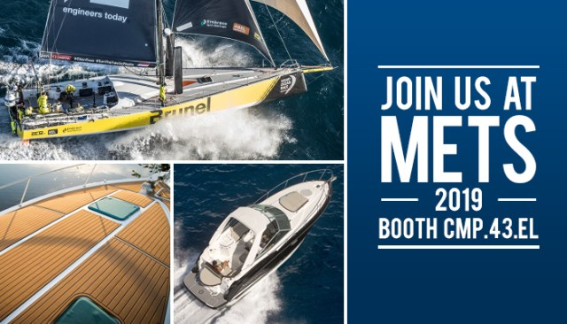 boat images featuring seadek with an invitation to METS