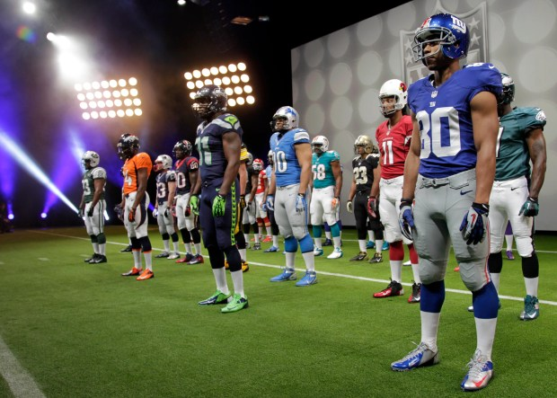 NFL Uniforms Football