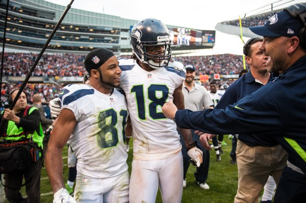 Golden Tate, Sidney Rice