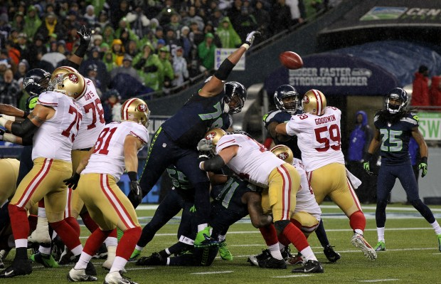Richard Sherman, Red Bryant Field Goal Block