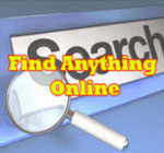 find anything online