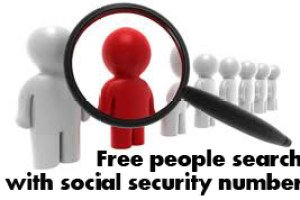 Free people search with social security number