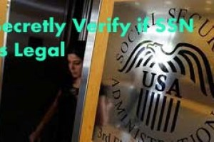 Secretly Verify if SSN is Legal