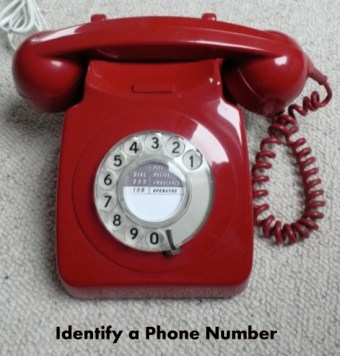 Identify a Phone Number