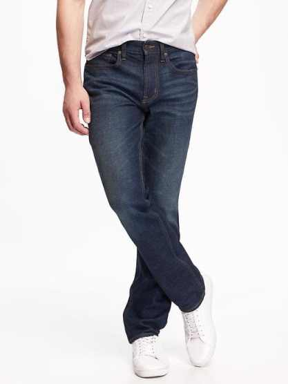 Short men's jeans available at SearchByInseam.com