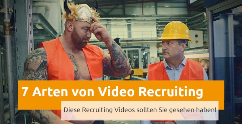 Arten von Recruiting Videos