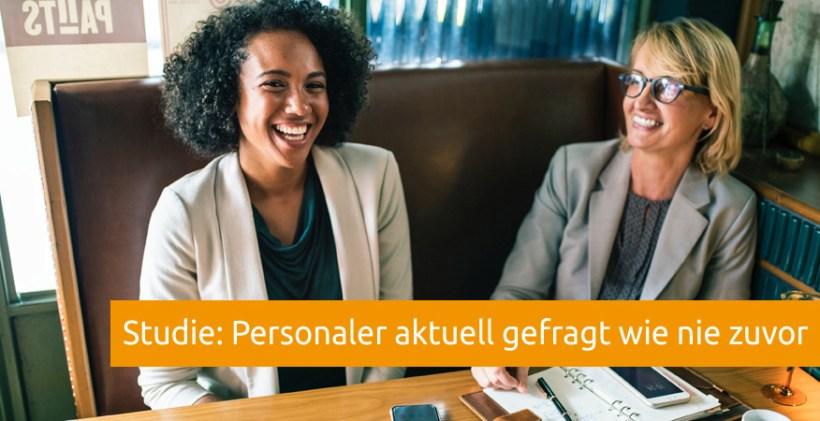 Studie Personaler Nachfrage hoch HR